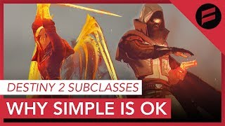 Destiny 2 - Why The Simpler Subclasses Make You More Powerful! thumbnail