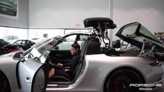 2017 Porsche 911 Targa 4 GTS II Roof Opening & Closing