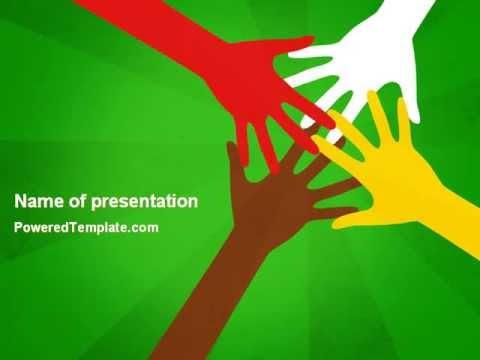 Racial unity powerpoint template by poweredtemplate youtube racial unity powerpoint template by poweredtemplate toneelgroepblik Gallery
