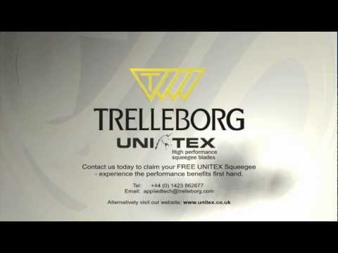 TRELLEBORG- UNITEX screen printing squeegee blades