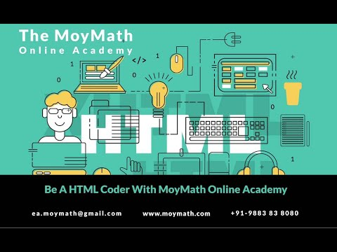 Learn Html With JS || MoyMath Online Academy Guides You ||