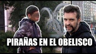 ¡ASÍ ROBAN EN EL OBELISCO!