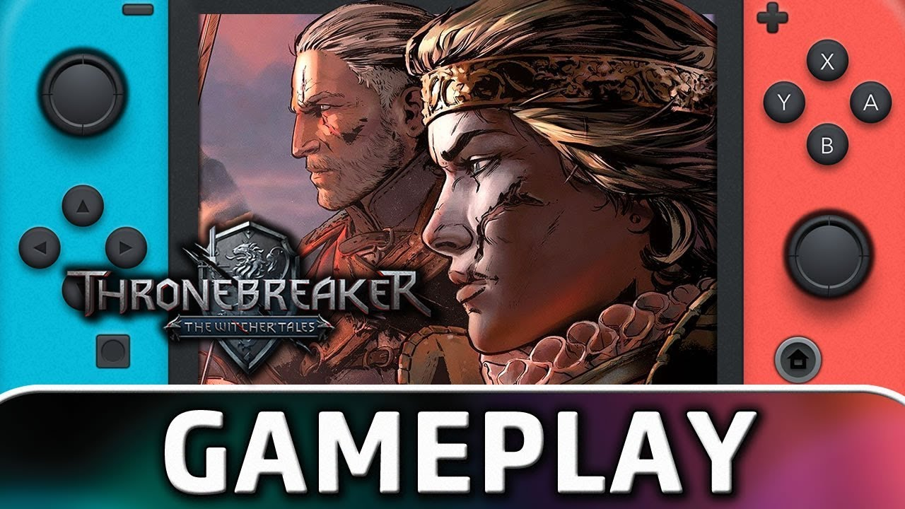 Thronebreaker: The Witcher Tales | First 25 Minutes on Nintendo Switch