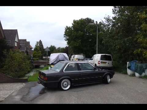 bmw e30 323i turbo testrit 1 no exhaust youtube. Black Bedroom Furniture Sets. Home Design Ideas