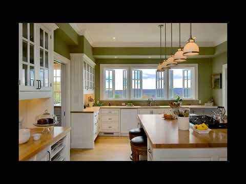2018 Green Kitchen Ideas, Decor, Curtains, and Accessories