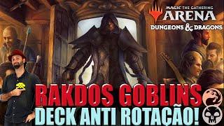 RAKDOS GOBLINS 2 in 1 ANTI-ROTAÇÃO! -MTG ARENA DECK- #MTGARENA #MTGARENABR #MTG