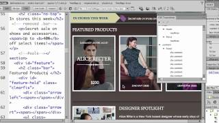 Creating CSS Transitions in Dreamweaver CS6