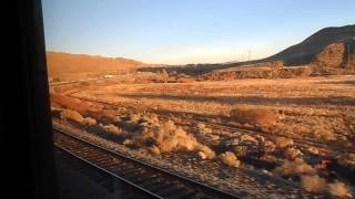 Amtrak California Zephyr, Leaving Truckee, California, on the way to Reno, Nevada