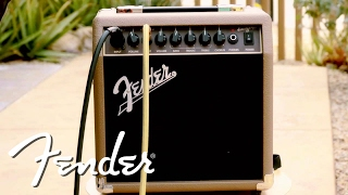 Fender Acoustasonic 15 Demo | Fender