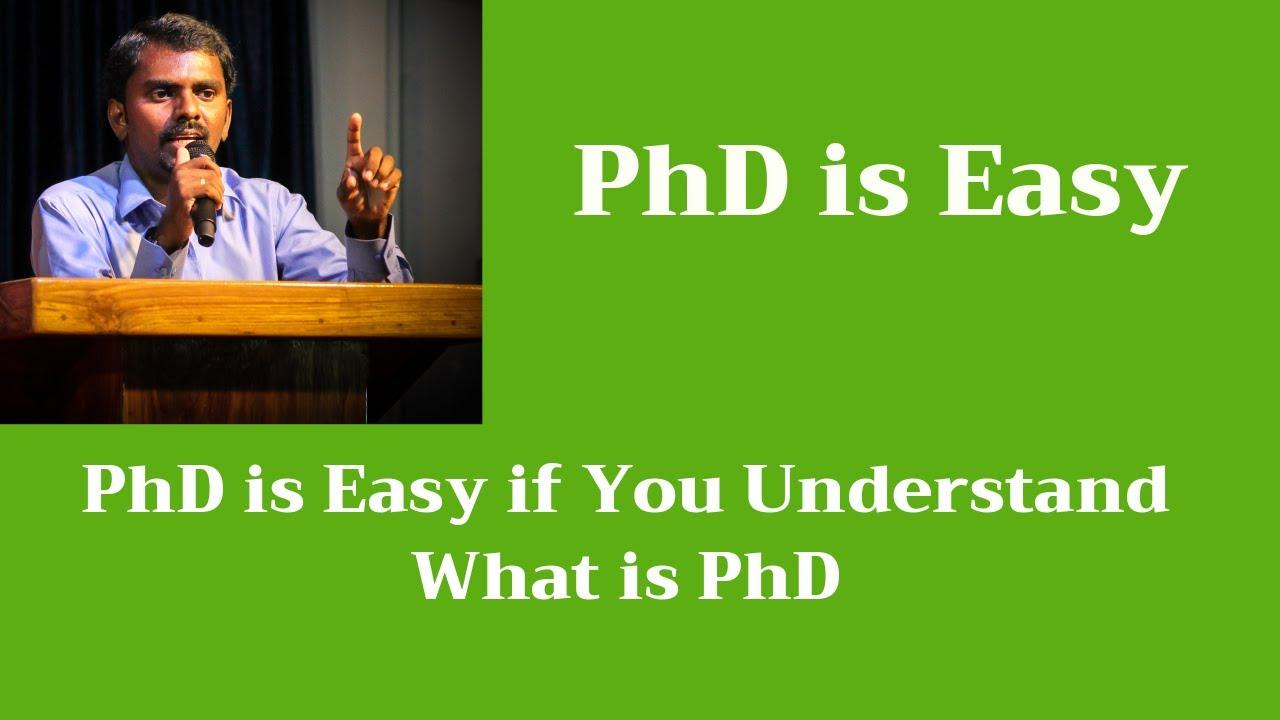 easy phd