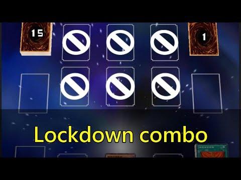 [Yu-Gi-Oh! Duel Links] Lockdown Combo