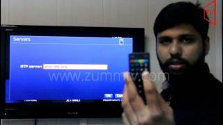 How To Change Date And Time Settings in ZummTV Z254 Box