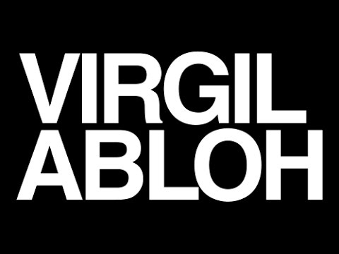 "Virgil Abloh ""Theoretically Speaking"" 