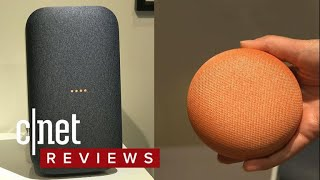 Google Home Mini and Max hands on