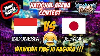 LOL Kagura nya Lagi PMS Nih Indonesia vs Jepang National Arena Contest Terbaru 2017 thumbnail