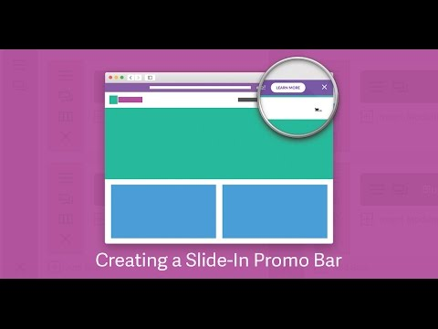How to Create a Promo/Notification Bar in Divi | Divi Life