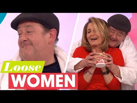 Johnny Vegas Reckons He Could Become a Preacher in America and Be a Millionaire | Loose Women