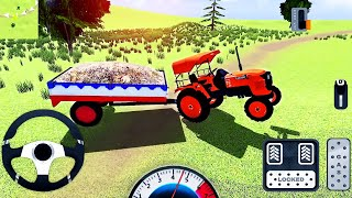 Indian Tractor Simulator #2 - Real Tractor Trolley Cargo Driving - Android GamePlay