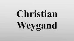 Christian Weygand