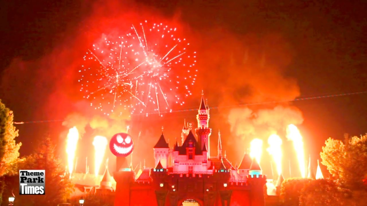Disneyland Halloween Screams Fireworks 2013 - Full Show
