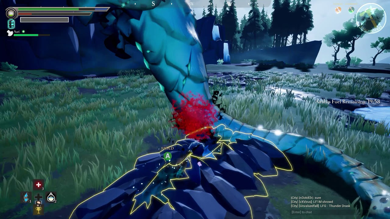 how to play solo in dauntless