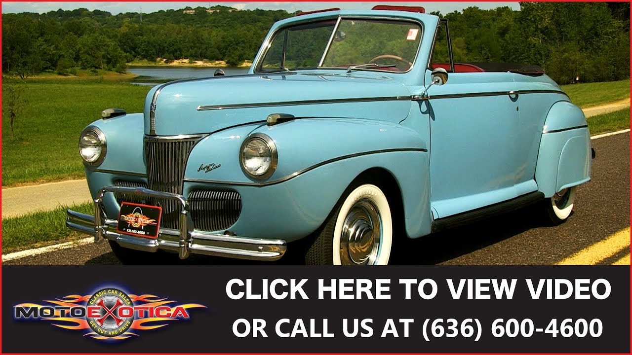 1941 Ford Super Deluxe || SOLD