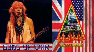 Def Leppard - Stephen Clark Tribute + Gods Of War - Ultra HD 4K - Hysteria At The O2 (2018)