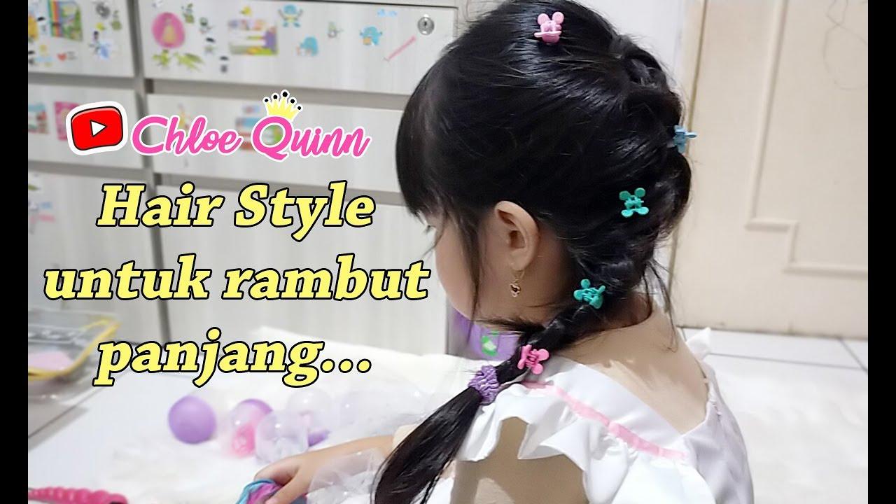 Cara Membuat Kepang Rambut Anak