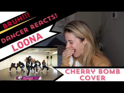 "Dancer Reacts - 이달의 소녀 LOONA ""NCT 127 엔시티 127 - Cherry Bomb"" Dance Cover"