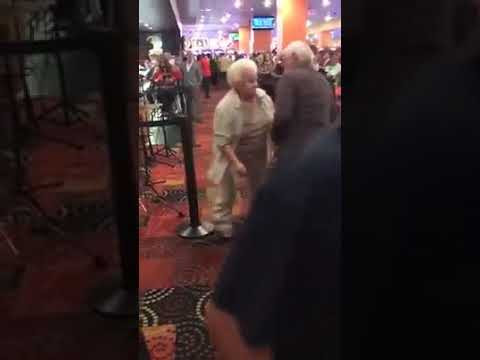 Mature couple get their groove on