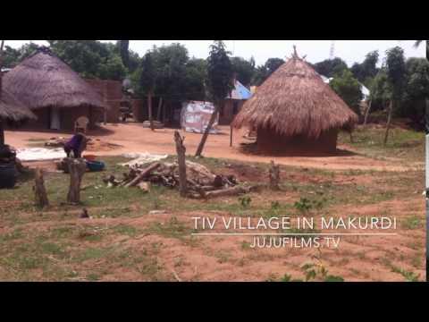 Tiv Village in Makurdi, Benue State, Nigeria.