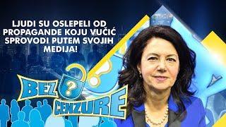 Sanda Rašković - Ljudi su oslepeli od propagande koju Vučić sprovodi putem svojih medija!
