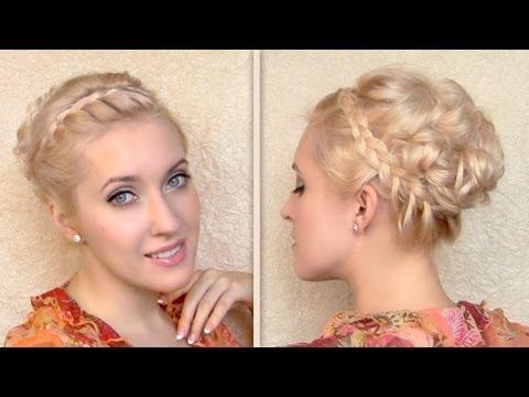 greek goddess hair tutorial updo