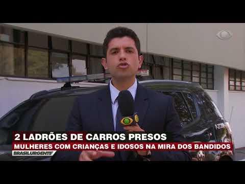 Dupla de ladrões de carros é presa em São Paulo