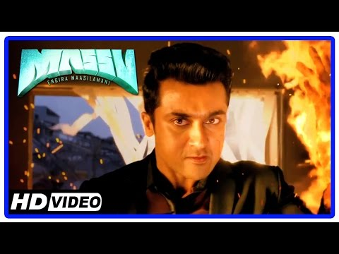 Massu Tamil Movie | Fight Scene | Suriya Accidentally Kills Vinod | Suriya Threatens Ghost Suriya