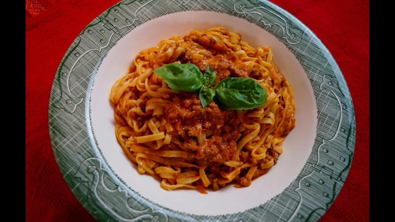 pasta bolognese ah