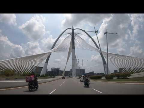 Driving In Putrajaya | Putra Mosque | Perdana Putra | Putra Bridge