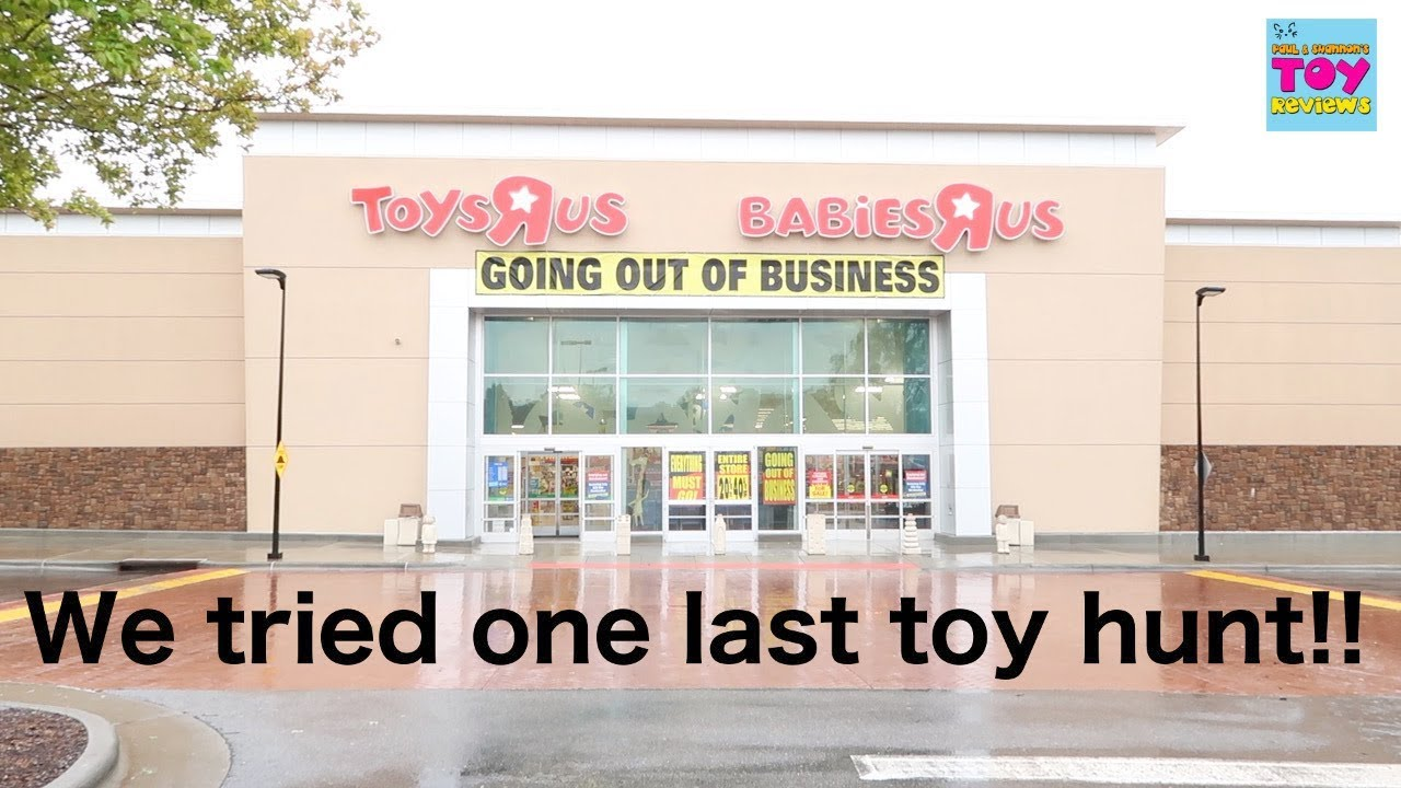 Toy Hunt Target And Toys R Us One Last Time New Vlog | PSToyReviews ...