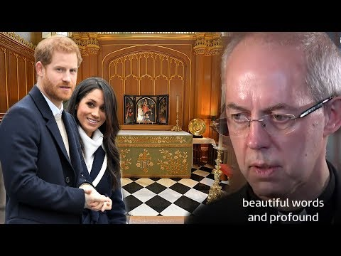 Archbishop Justin Welby opens up about Meghan's baptism 'It was beautiful'