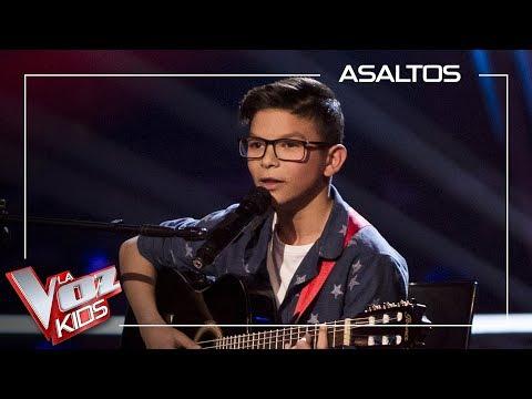 Salvador Bermudez Canta 'Al Alba' | Asaltos | La Voz Kids Antena 3 2019