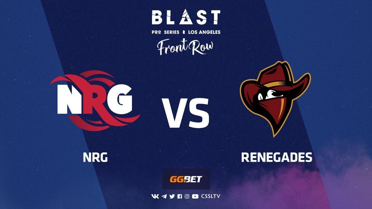 NRG vs Renegades | Dust2 | BLAST Pro Series Los Angeles 2019