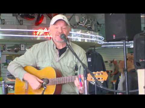 David Crossman Playing at Bost Harley Davidson for the NashvilleEar.com Songwriter Stage