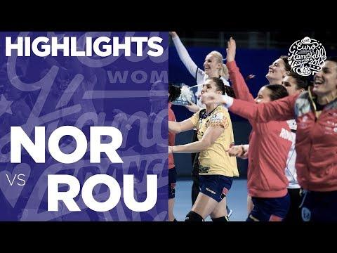 Norway vs Romania   Highlights   Women's EHF EURO 2018