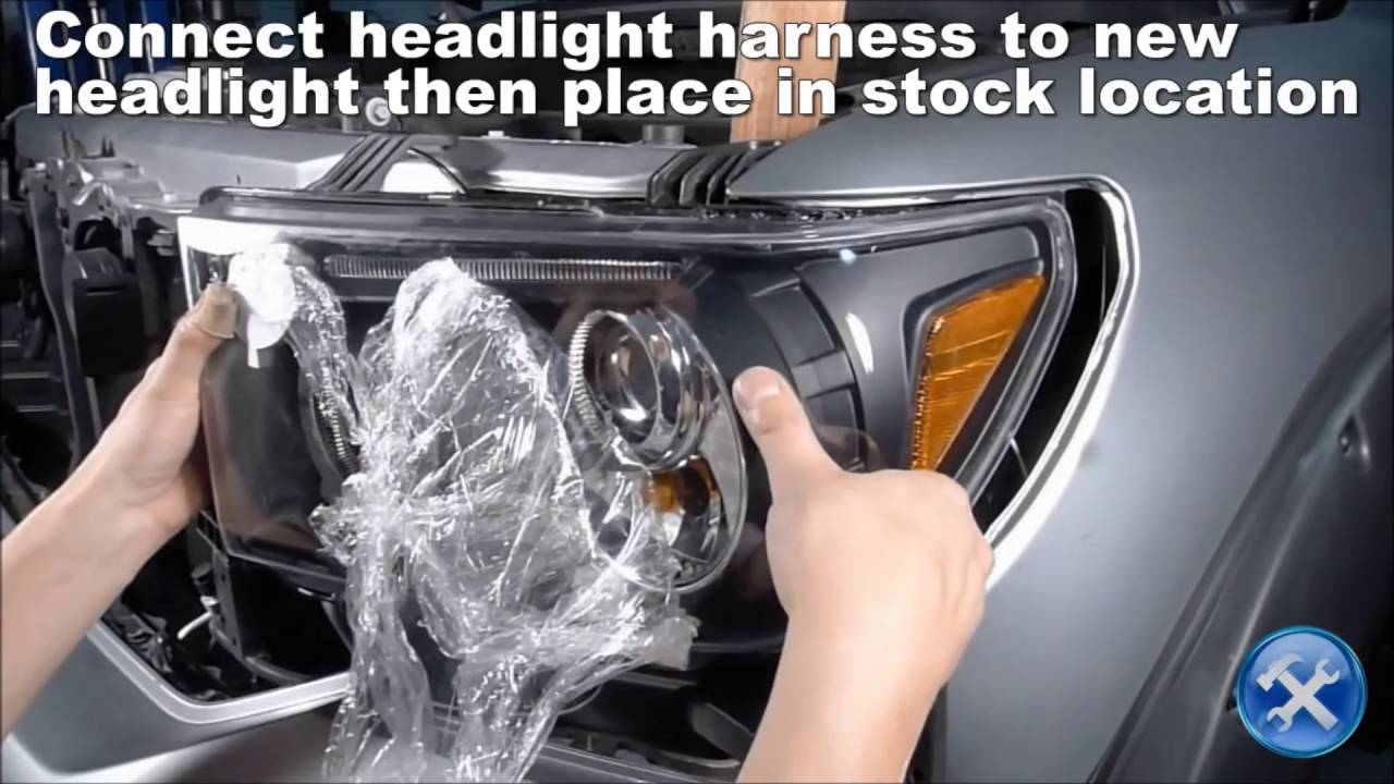 Spec D Toyota Tundra Projector Headlight Installation Youtube Mclaren Wire Harness