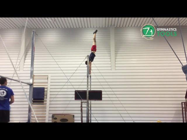 Hip Circle and Free Hip Circle Drills and Exercises Uneven Bars Gymnastics