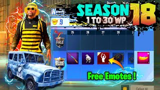 WINNER PASS SEASON 18 IS HERE!FREE EMOTE,SEASON18 OUTFITS PUBG MOBILE LITE | S18 RELASE DATE PUBGML