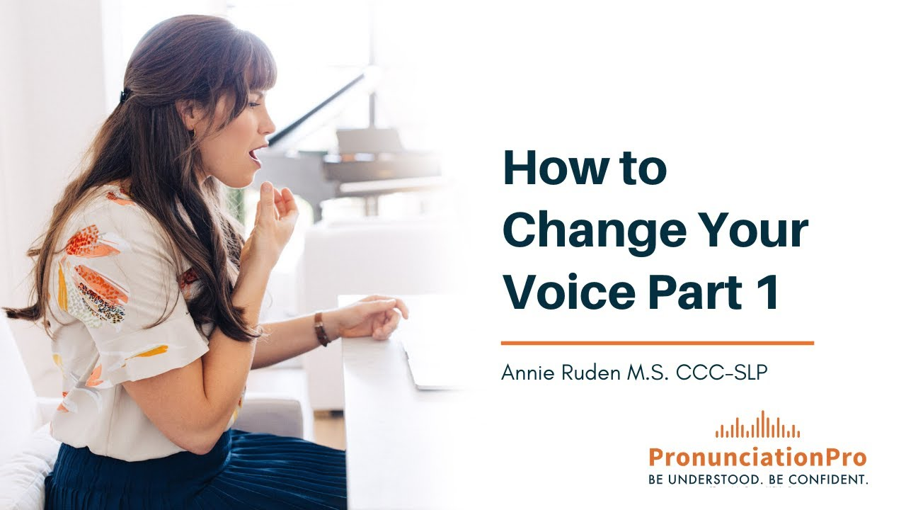 How to mature your voice