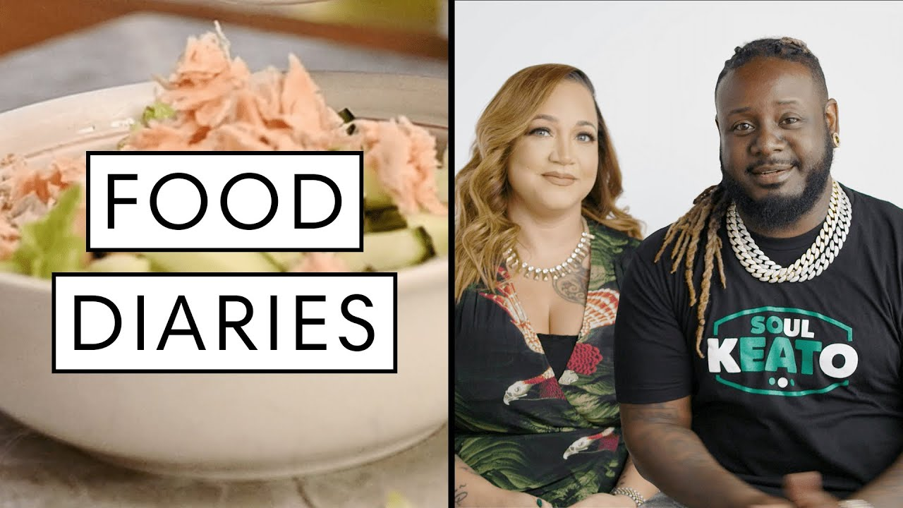 Everything T-Pain and Amber Najm Eat in a Day | Food Diaries: Bite Size | Harper's BAZAAR