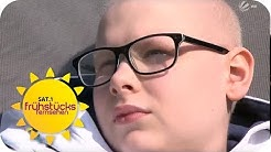 Moritz (13) will nicht sterben! Sein Kampf gegen den Hirntumor | SAT.1 Frühstücksfernsehen | TV