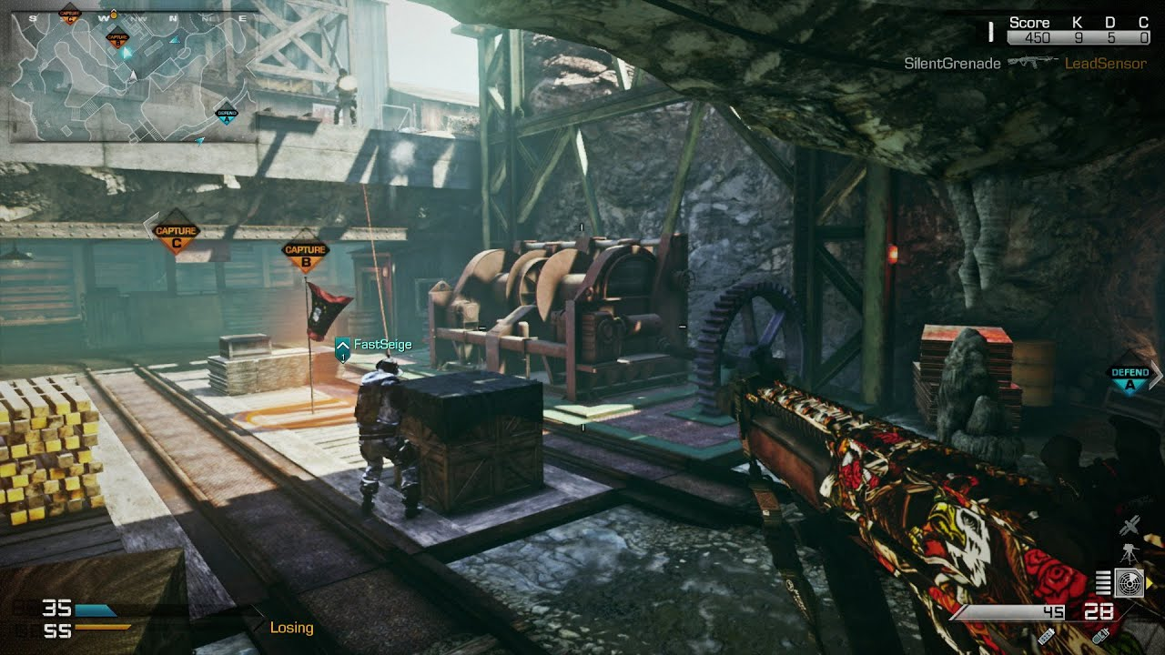 A la cart: Nemesis DLC takes Call of Duty: Ghosts players to ... Smallest Map On Call Of Duty Ghost on smallest map cod, smallest halo map, smallest map in advanced warfare,